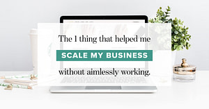 Overwhelmed, overworked, and not seeing a profit in your business yet?
