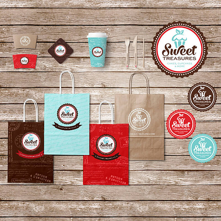 Sweet Treasures Branding