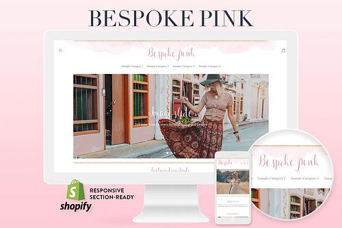 pink boho shopify theme