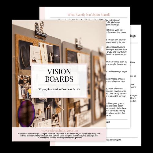 vision boards PDF guide