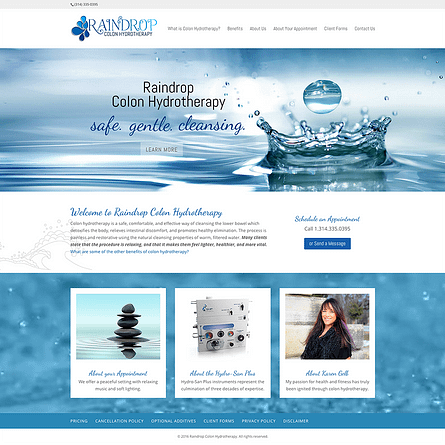 Raindrop Colon Hydrotherapy