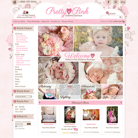 Pretty in Pink Children's Boutique