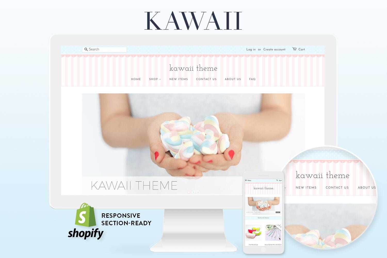 kawaii shopify theme