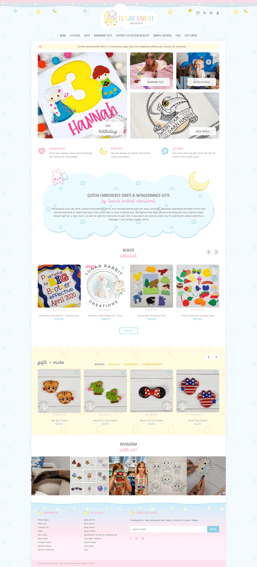 kawaii website design